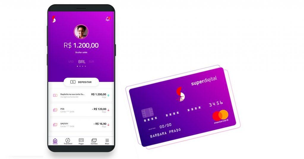 cartão de crédito da superdigital