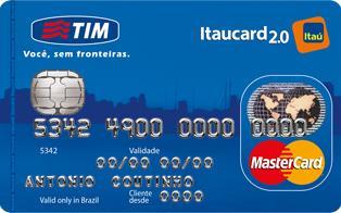 cartão de crédito da Tim