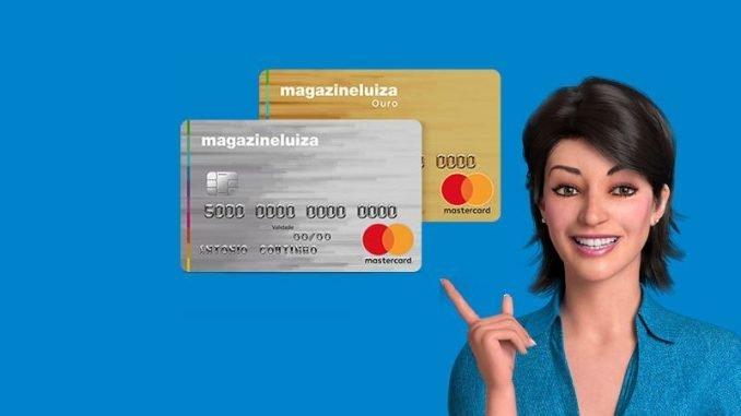 Cartão de crédito Internacional Luiza