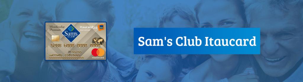 cartão de crédito Itaucard Sam's Club