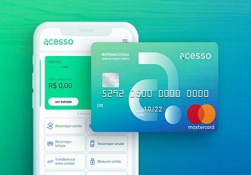 cartão de crédito Acesso