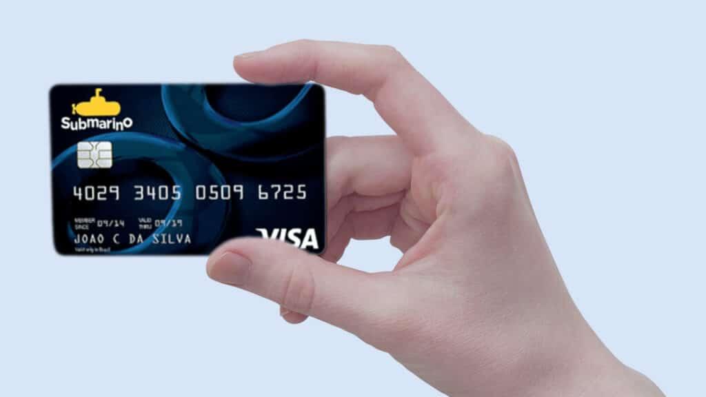 cartão de crédito da Submarino