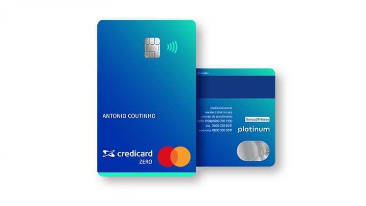 cartão de crédito Credicard ZERO