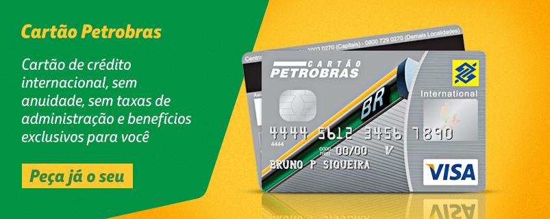 cartão de crédito Petrobrás