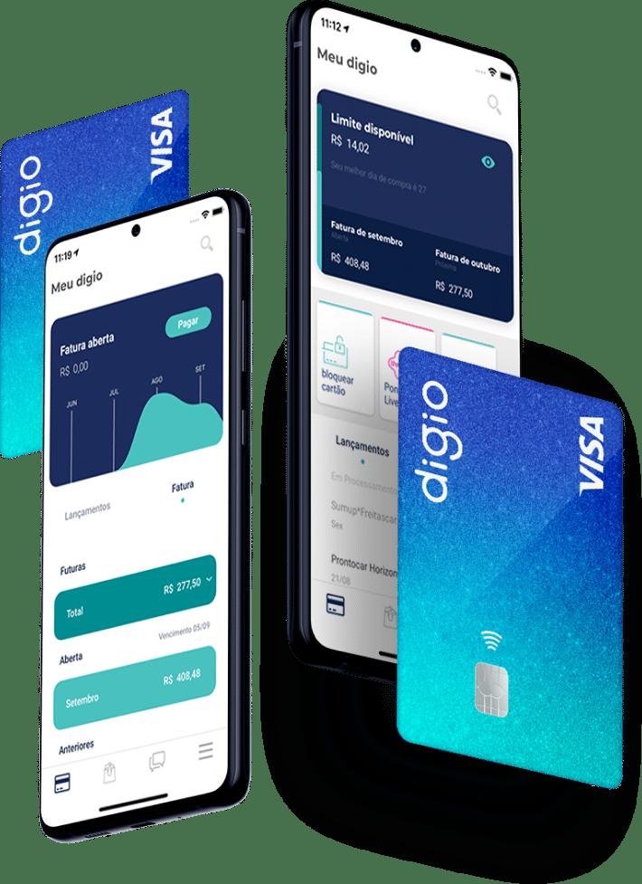Digio: cartão de crédito