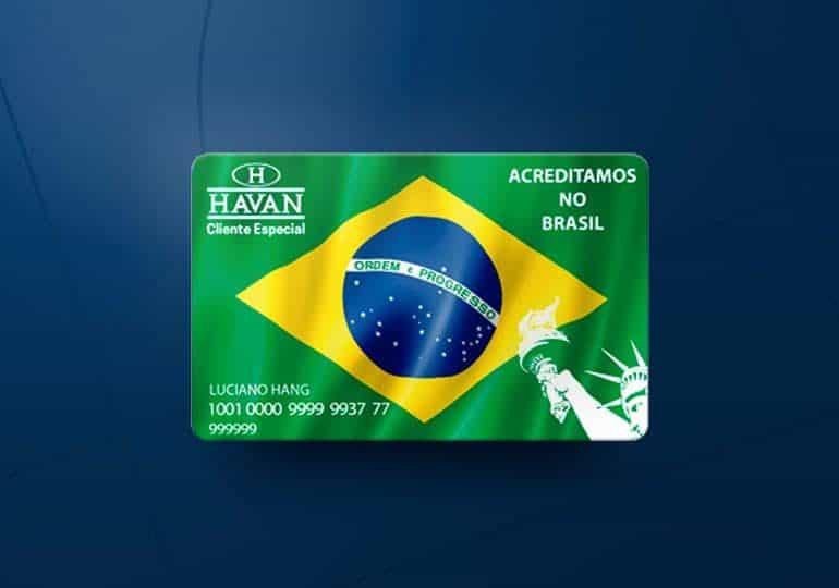 Cartão de crédito Havan