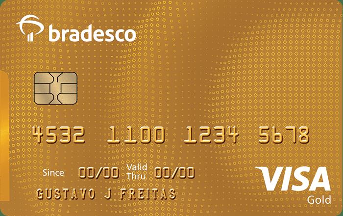 Cartão de crédito Visa Gold