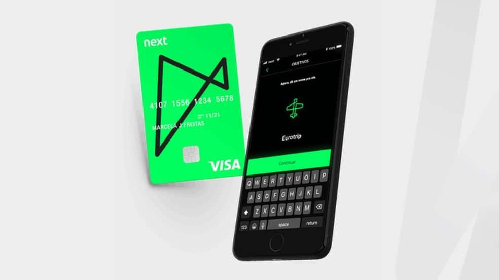 Cartão de crédito Next