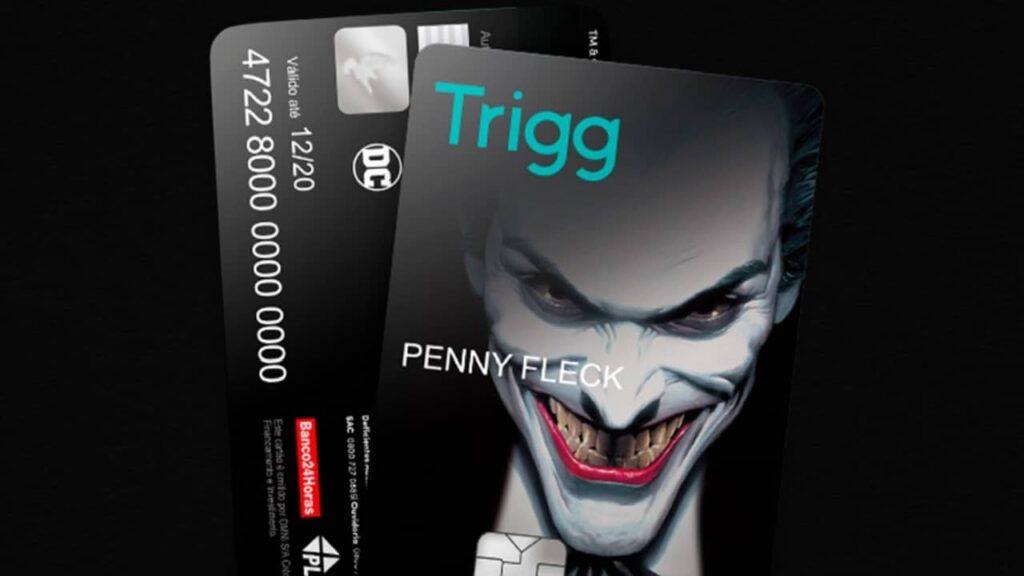 Cartão de crédito Visa Trigg