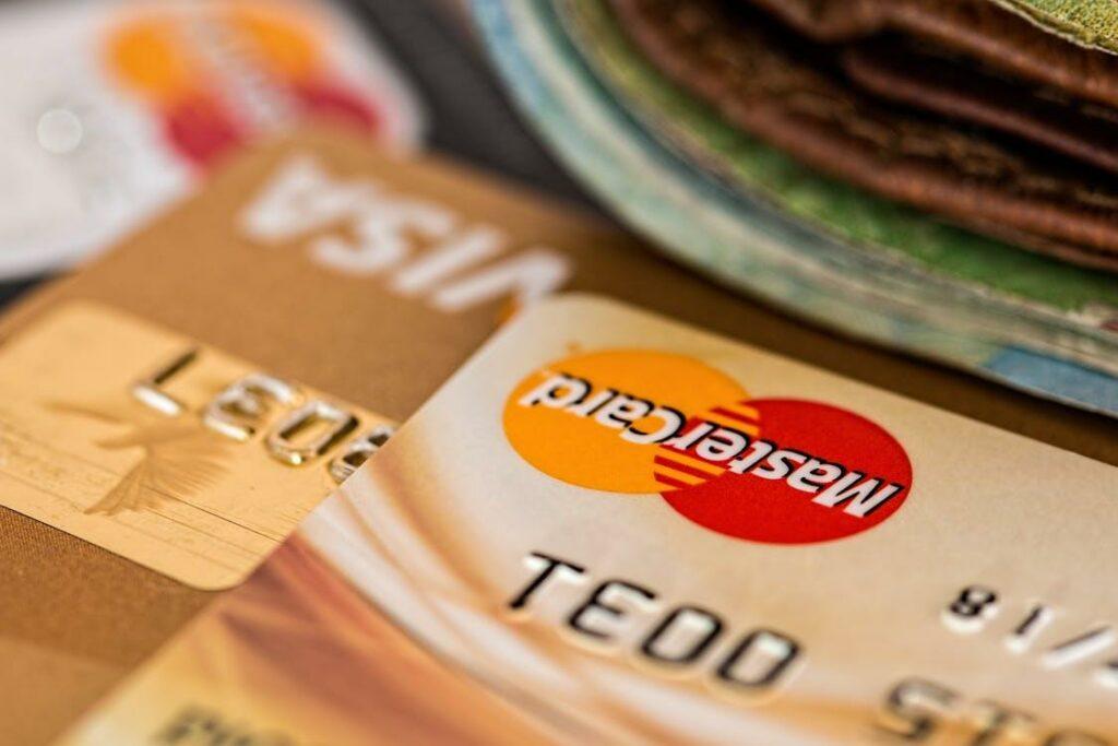 cartão de crédito foi negado
