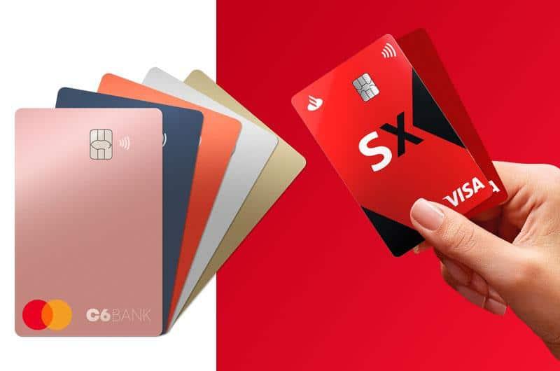 C6 Bank e Santander SX