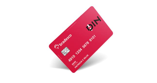 cartão de crédito bradesco din