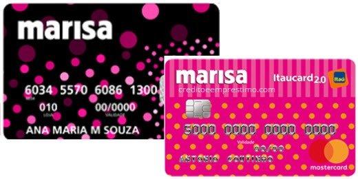 solicitar cartão de crédito marisa