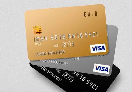 Cartões Gold Platinum e Black