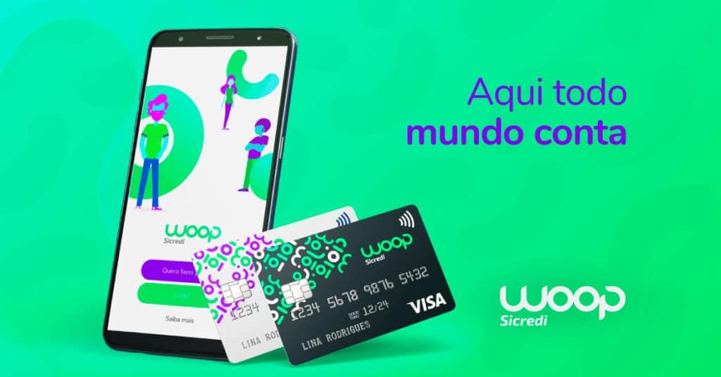 solicitar o cartão de crédito woop