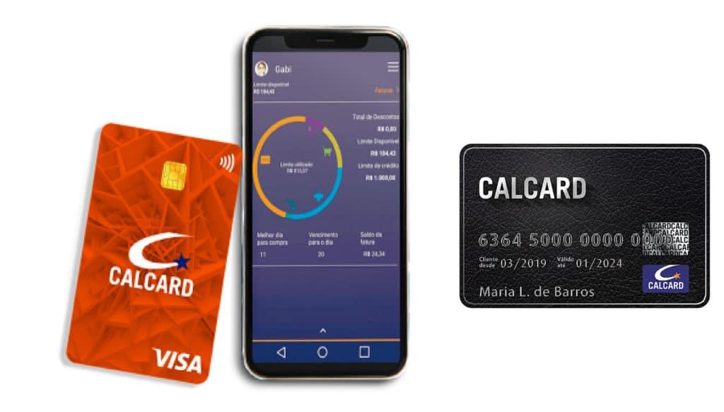 cartão de crédito Calcard
