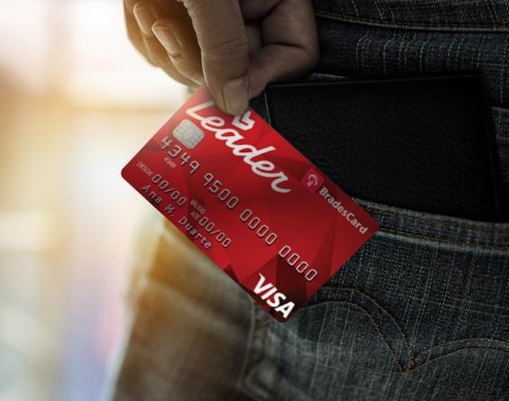 cartão de crédito leader