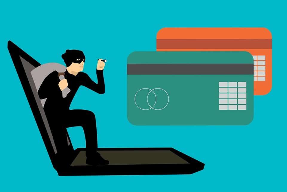 fraudes de cartão de crédito