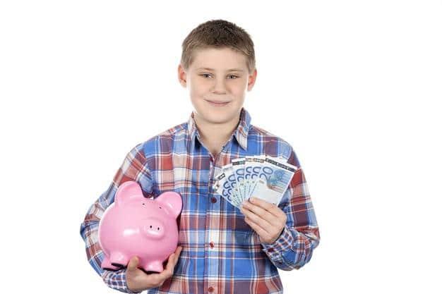 ensinar educação financeira infantil